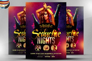 Seductive Nights Flyer Template