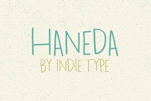 Haneda Fonts