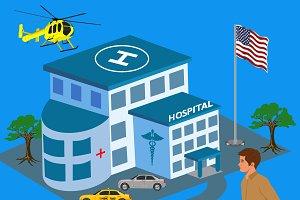 Expensive ER hospital visits, health