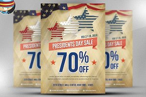 President's Day Flyer Template v3