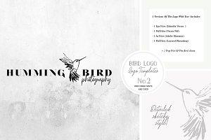 Bird Logo -Sketchy Artistic style 2