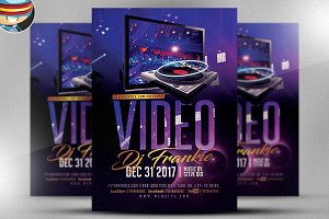 Video DJ Flyer Template v1