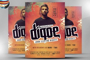 Dj Flyer Template v2
