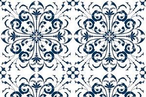 Vintage Victorian Tile