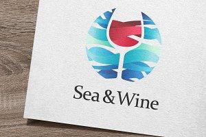 Sea and Wine Logo
