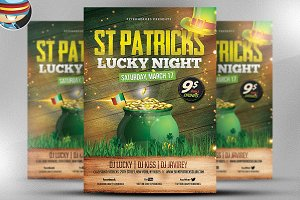 St. Patrick's Day Flyer Template v2