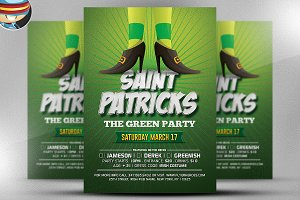 St. Patrick's Day Flyer Template v3