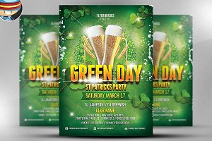 St. Patrick's Day Flyer Template v4