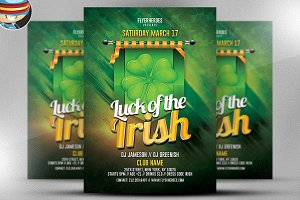 St. Patrick's Day Flyer Template v5