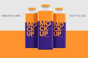 1L Bottle - Matte - Mockup