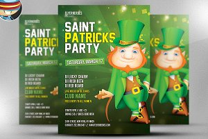 St. Patrick's Day Flyer Template v6