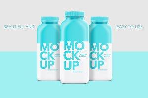 Talcum Bottle Mockup - Matte