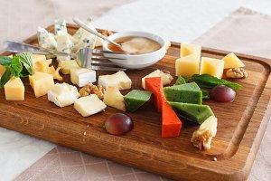 Cheese allsorts