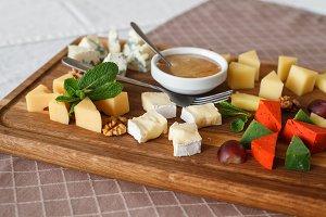 Cheese allsorts.