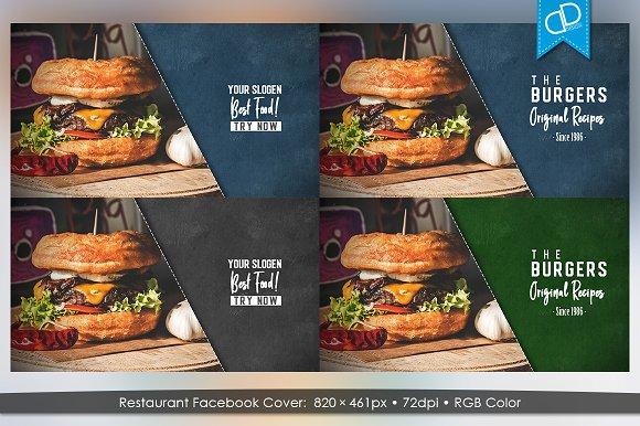 Restaurant Facebook Timeline Cover