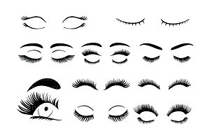 Eyelashes SVG, eyelash  svg  files