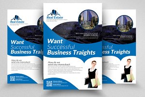 Constructing Business Flyer Template