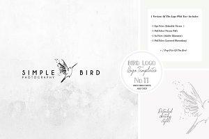 Bird Logo -Sketchy Artistic style 11