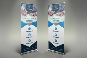Business Roll Up Banner #078