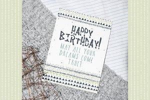 Street Style Birthday Card