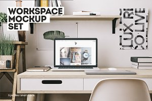 Workspace Mockup Set 8