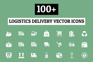 100+ Logistics Delivery Vector Icons