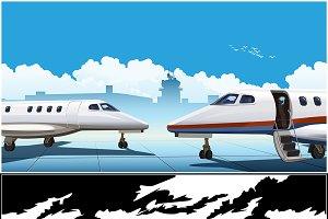 Modern Business Jets mini Set
