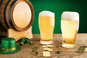St. Patrick's Day - Two Beers