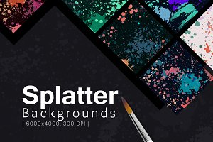 Splatter Backgrounds