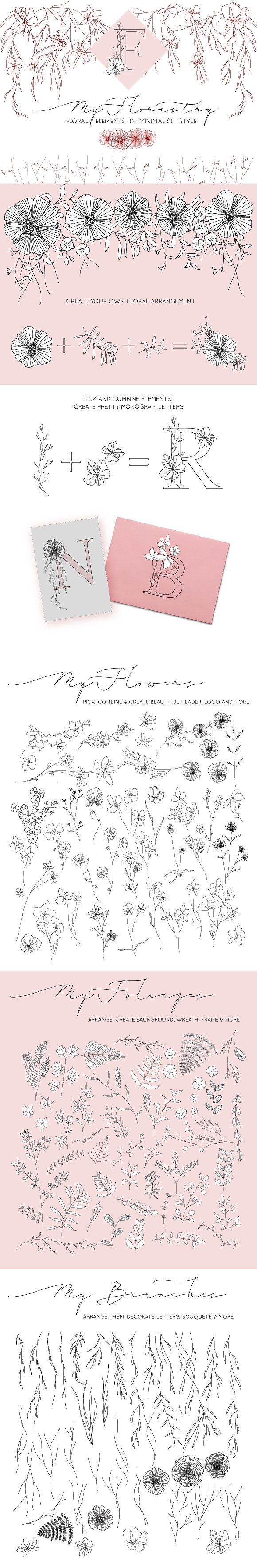 MyFlorastry Minimalist Floral Design