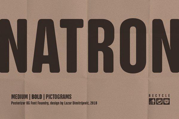 Symbol Fonts: Posterizer KG - NATRON