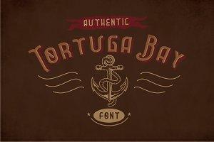 Tortuga Vintage Label Typeface