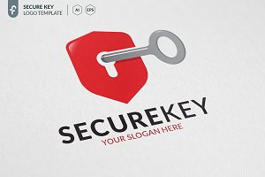 Secure Key Logo