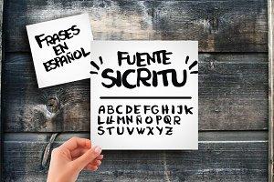 FUENTE SICRITU Frases en Español