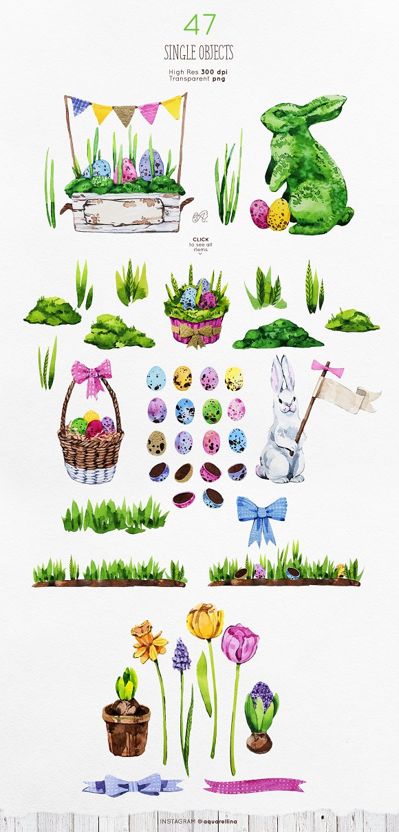 Easter Essentials Watercolour Set