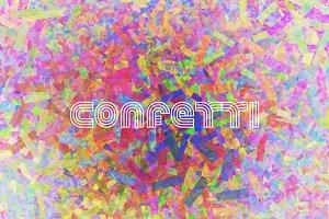 Confetti Texture