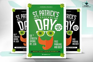 St. Patricks Day Festival Flyer