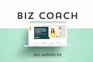 Biz Coach - A Divi Website Builder