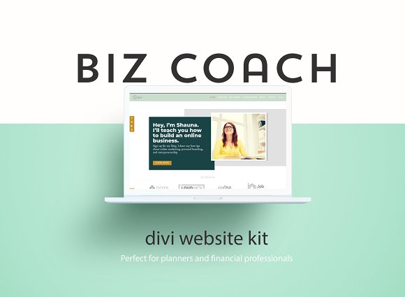 Biz Coach A Divi Website Builder