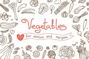 Vegetables - Design Set