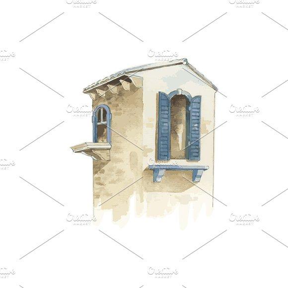 Illustration Of City Building