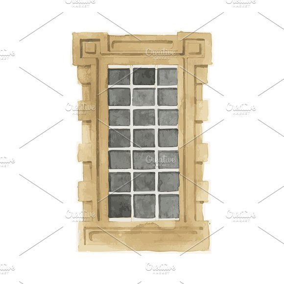 Illustration of window in Illustrations