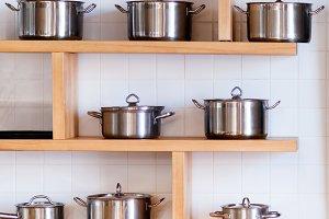 Mettalic new pans