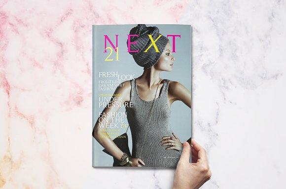 NEXT Magazine Template