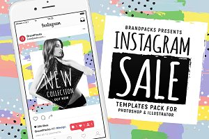 Instagram Sale Templates Pack