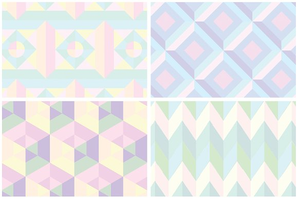 Holographic Patterns + Templates Set in Patterns - product preview 13