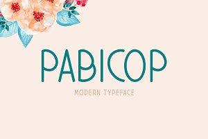 Pabicop Typeface