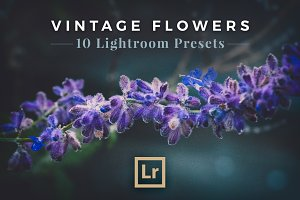 Vintage Flowers - Lightroom Presets