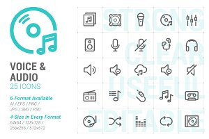 Voice & Audio Mini Icon