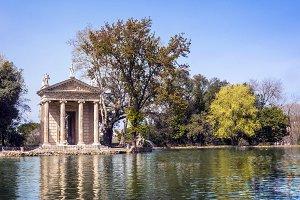 Villa Borghese Gardens, Rome Italy